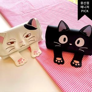 [용산점PICK)고양이시리즈(안경케이스)